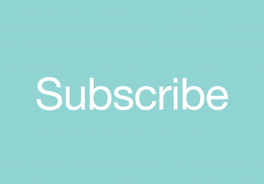 Subscribe to Mailing List